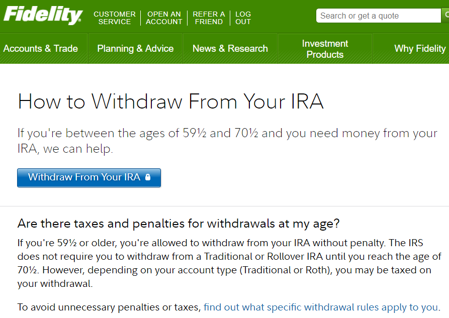 Trade options in ira fidelity